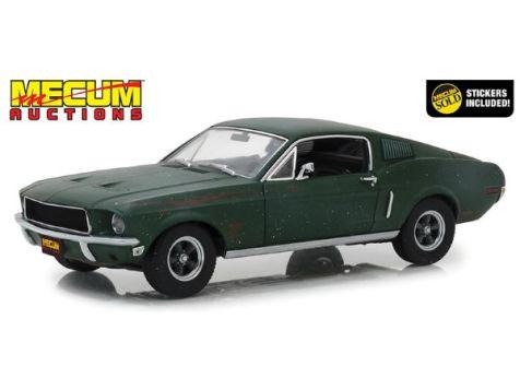 1:18 Greenlight Unrestored 1968 Ford Mustang Fastback Bullitt