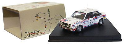 1:43 Trofeu Fiat 131 Abarth 5th Banama Rally 1980 1418