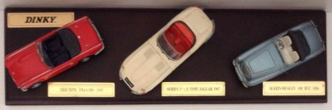 1:43 Dinky Classic British Sports Cars Series 2 DY-903