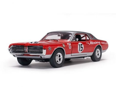1:18 Sun Star 1967 Mercury Cougar Racing #15 Jones 3rd 1967 Daytona 300