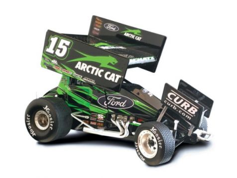 1:18 R&R 2017 Donny Schatz Arctic Cat Sprint Car 181701