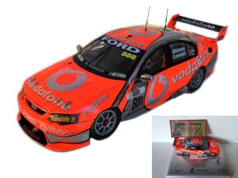 2007 Bathurst 1000 Winner - Lowndes Whincup BF Falcon and Motor Focus Display Base