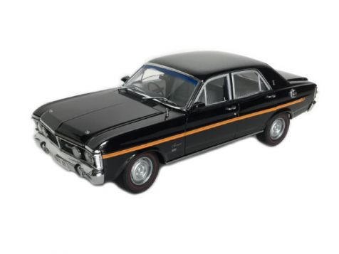1:18 Classic Carlectables 1971 Ford XY Fairmont GS in Onyx Black
