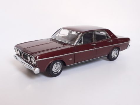 1:18 Classic Carlectables Ford XT GT Falcon in Vintage Burgundy