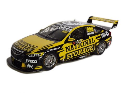1:18 Classic Carlectables 2018 Holden ZB Commodore #888 Craig Lowndes Auckland Supersprint Livery