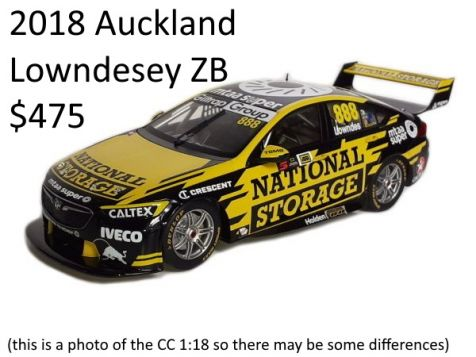 PREORDER: 1:12 Biante 2019 Bathurst 1000 Holden ZB Commodore Retro Livery - #888 Whincup/Lowndes
