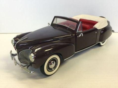 1:24 Franklin Mint 1941 Lincoln Continental