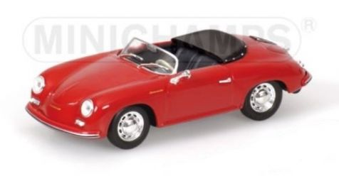 1:43 Minichamps 1956 Porsche 356 A Speedster in Dark Red 430 065540