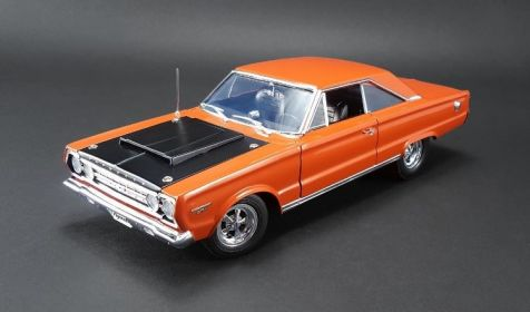 1:18 ACME 1967 Custom Plymouth GTX Hemi Bullet Orange A1806702