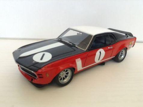 1:43 ARMCO models 1969 Ford Mustang #1 Frank Gardner COA #001/500
