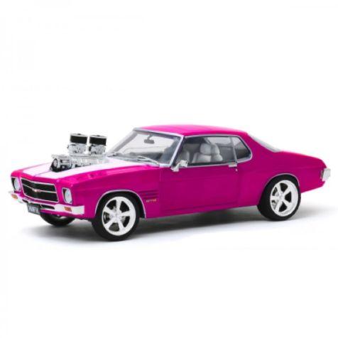 1973 PINK/WHITE HQ HOLDEN MONARO 1:24 model