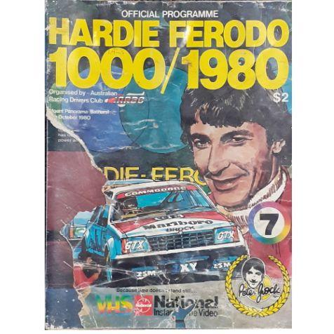 1980 Hardie-Ferodo 1000 Official Programme