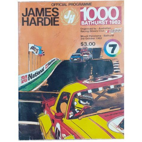 1982 Hardie-Ferodo 1000 Official Programme