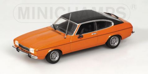 1:43 Minichamps Ford Capri II GT metallic orange side 400081204