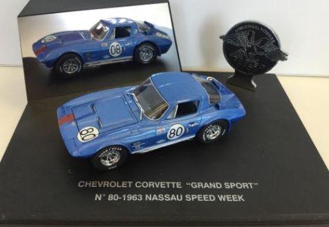 1:43 Eagles Collectibles 1966 Chevrolet Corvette Grand Sport #2 Bridgehampton