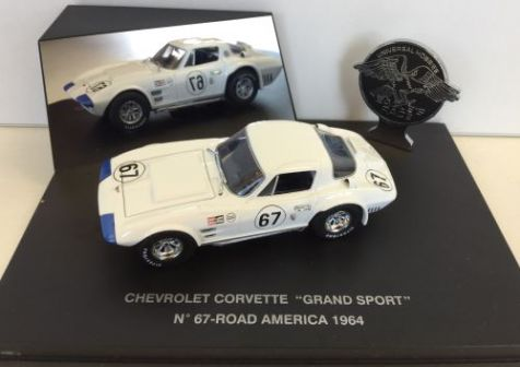 "1:43 Eagle Collectibles 1965 Chevrolet Corvette ""Grand Sport"" Coupe #4 12Hr Sebring"