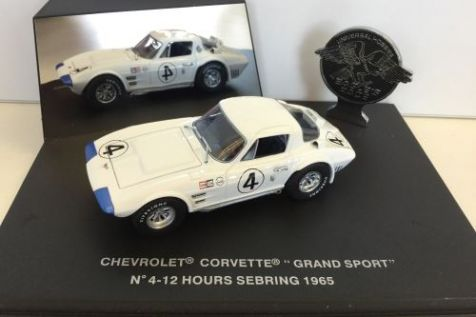 "1:43 Eagle Collectibles Chevrolet Corvette ""Grand Sport"" Coupe #50 Nassau Speed Week 1963"