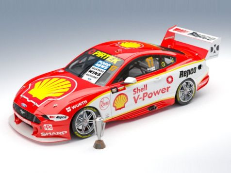 2019 1:18 Bathurst Winning Ford Mustang #17 McLaughlin/Premat