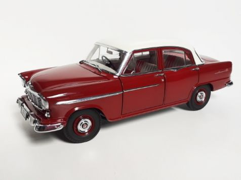 1:18 Classic Carlectables Ford XW Falcon GT-HO Phase II - Brambles Red - 1970 diecast model