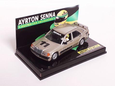 1:43 Minichamps LANG Ayrton Senna Mercedes-Benz, Typ 190 E 2.3-16 1984 Edition 43 No. 11