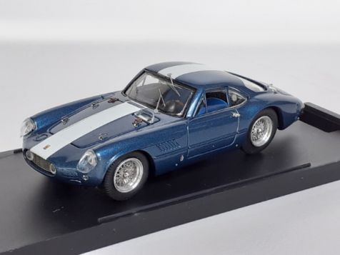 "1:43 Bang - Ferrari 250 GT Sperimentale Presentation ""NART"" - 1962 - Metallic Blue - Item No. 7194"