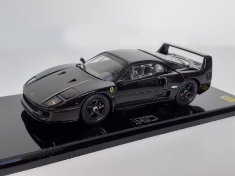 1:43 Kyosho Ferrari F40 (Light Weight Version) Black 05042BK
