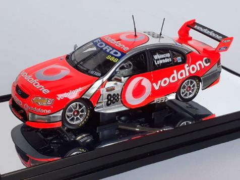 1:43 Classic Carlectables 2007 Bathurst Winners -Team Vodafone Ford Falcon BF #888 Drivers: Craig Lowndes and Jamie Whincup