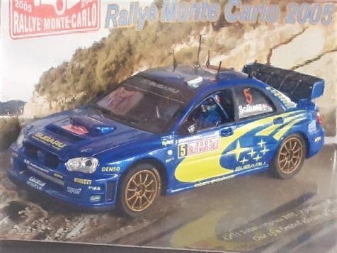 1:43 VITESSE 2005 Subaru Impreza WRC #5 P.Solberg/P.Mills Rallye Monte Carlo