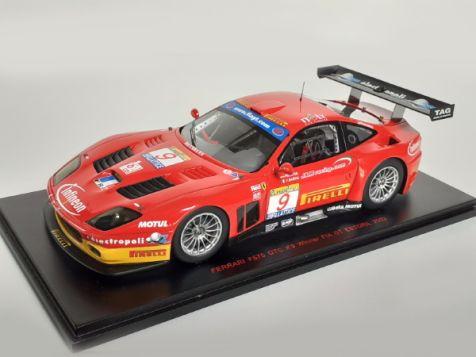 1:24 Red Line Models Ferrari F575 GTC no. 9 Winner FIA GT ESTORIL 2003 24RL005