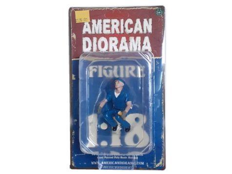 """1:18 American Diorama """"Scott"""" Tow Truck Driver Figure Accessory"""