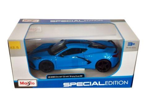 1:24 Maisto 2020 Chevrolet Corvette Stingray in Blue