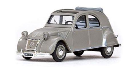 "1:43 Vitesse Models 1956 Citroen 2CV ""Belgium"" Grey"
