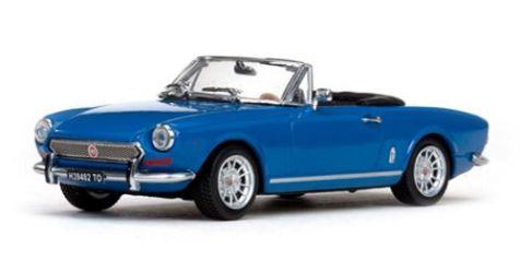 1:43 Vitesse 1970 Fiat 124 Spider BS in Blue 24603