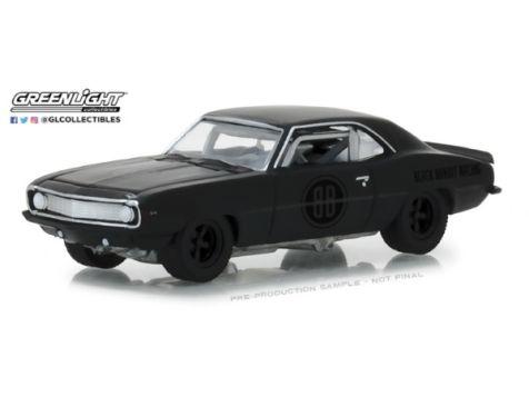 1:64 Greenlight 1969 Chevrolet Camaro Z/28 Trans Am Racing - Black Bandit