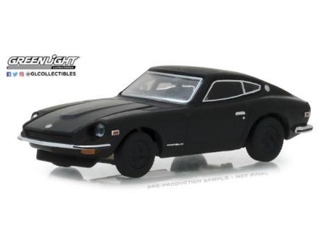 1:64 Greenlight 1971 Datsun 24OZ - Black Bandit