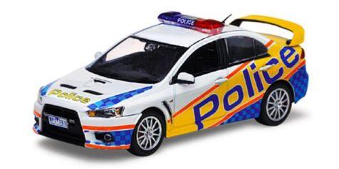 1:43 VITESSE Mitsubishi Lancer Evolution X Australia Victoria Police 29259