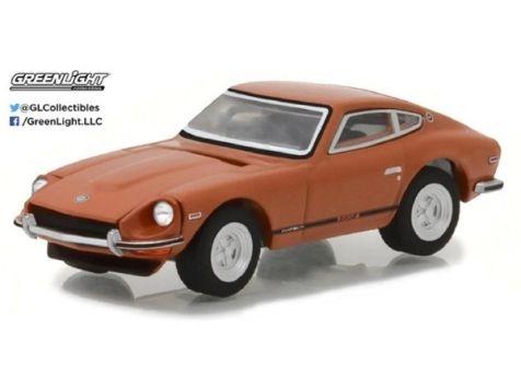 1:64 Greenlight 1971 Datsun 24OZ 918 Orange - Tokyo Torque