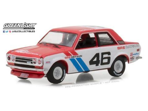 1:64 Greenlight 1971 Datsun 510 #46 John Morton BRE - Tokyo Torque