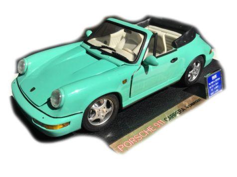 1:18 Anson Porsche 911 Carrera 4 Cabriolet
