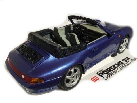 1:18 Bburago 1994 Porsche 911 Carrera Cabriolet