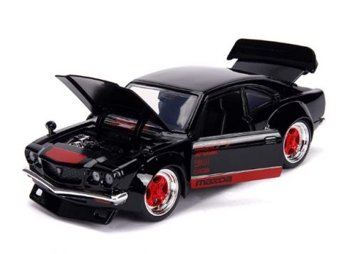 1:24 Jada 1974 Mazda RX-3 Savannah - Black
