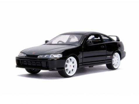 1:24 Jada JDM 1995 Honda Integra Type R Black 30930