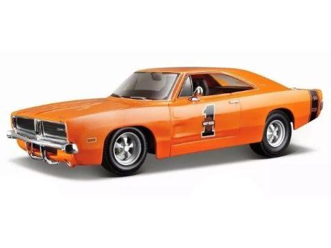 1:24 Maisto 1969 Dodge Charger R/T in Orange