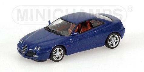 1:43 Minichamps 2003 Alfa Romeo GTV in Blu Lightning 400120302