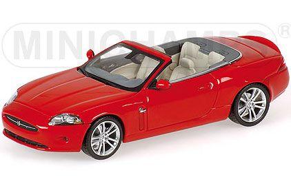 1:43 Minichamps Jaguar XK Convertible 2006 in Red 400130531