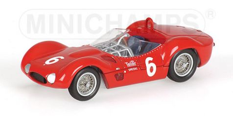 1:43 Spark Minichamps Maserati Tipo 61 SCCA National Race Meadowdale 1961 400611206