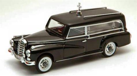 1:43 RIO Mercedes 300D 1960 Carro Funebre Funeral Car 4137