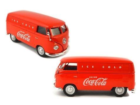 1:43 Motor City Classics Coca-Cola 1962 VW Cargo Van 430004