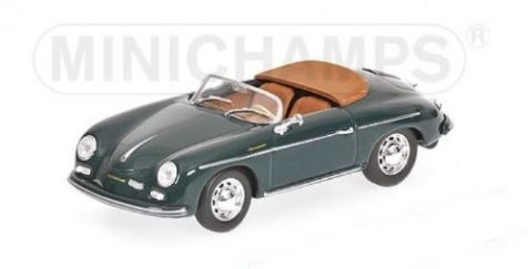1:43 Minichamps 1956 Porsche 356 A Speedster in Fjord Green 430 065541