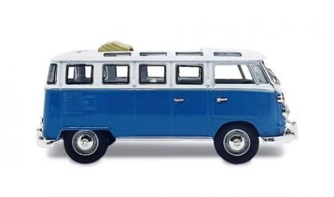 1:43 Road Signatures 1962 Volkswagen Microbus in Blue 43208